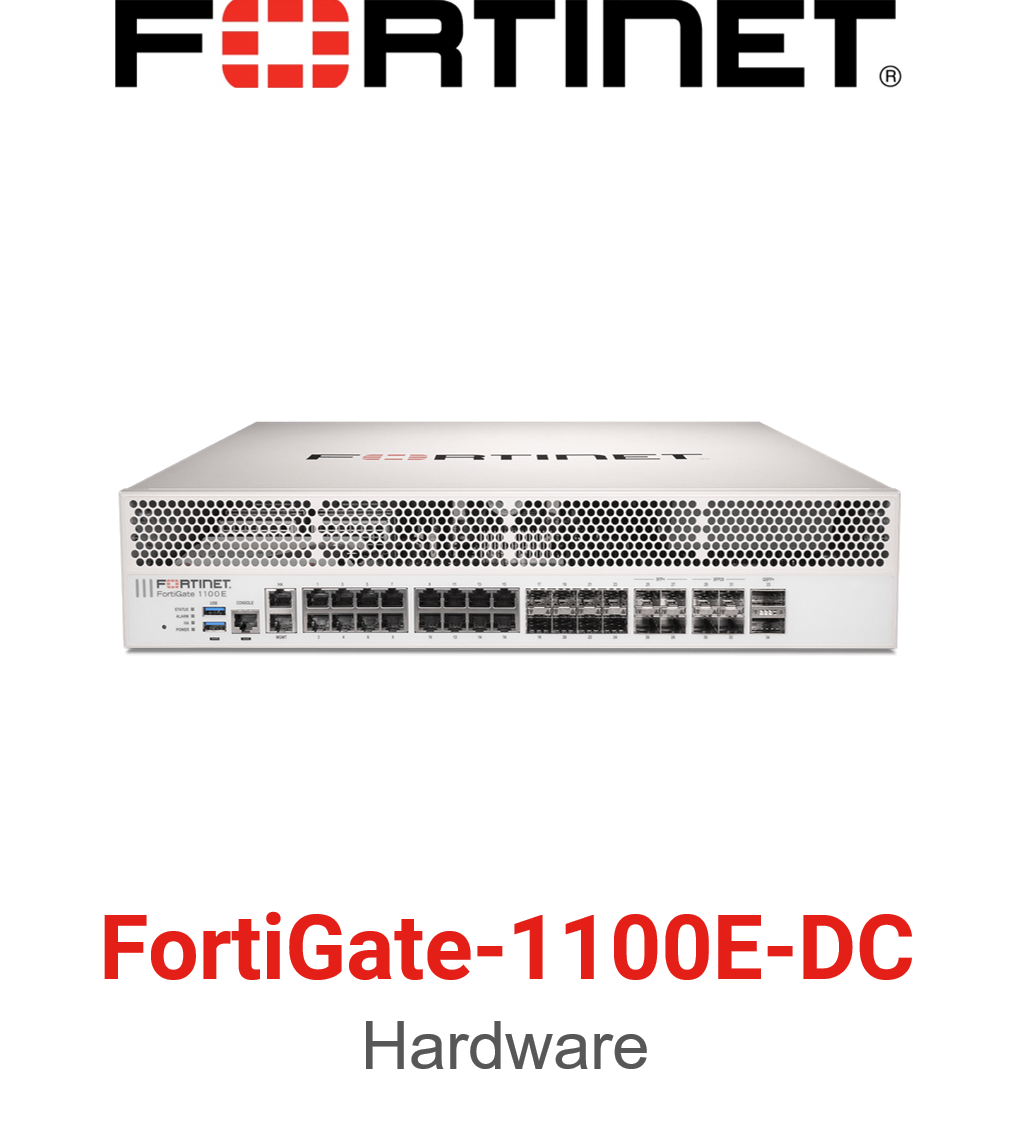 Fortinet FortiGate 1100E DC Firewall