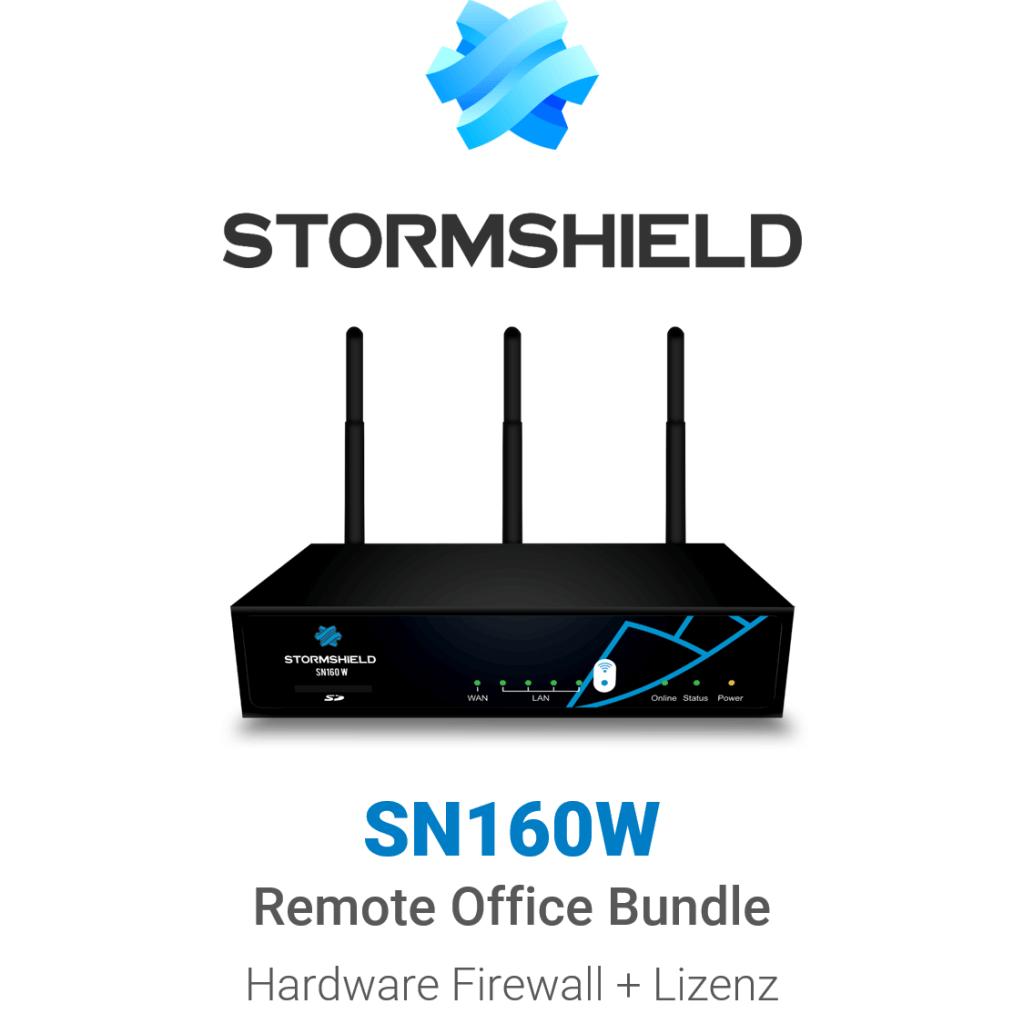 Stormshield SN 160 WiFi Remote Office Bundle (Hardware + Lizenz)
