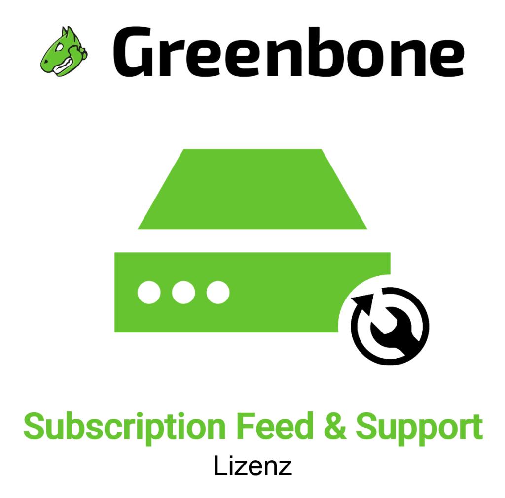 Greenbone GSM 150 Subscription Feeds und Support