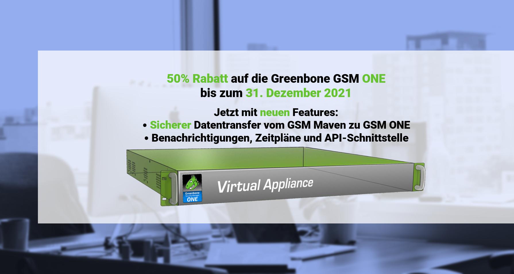 Greenbone GSM One Promo