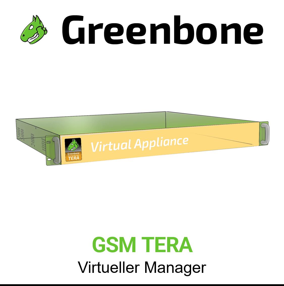 Greenbone GSM TERA Virtuelle Appliance