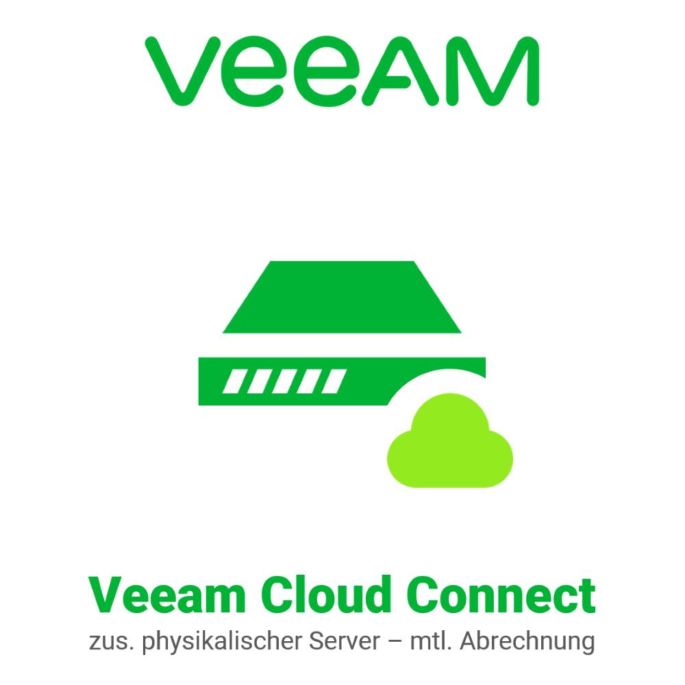 Veeam Cloud Connect - zusätzlicher physikalischer Server