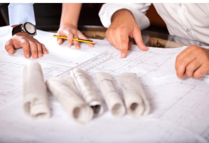 Gebäudeplan zur Planung der WLAN Infrastruktur