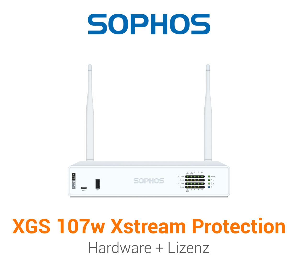 Sophos XGS 107w mit Xstream Protection