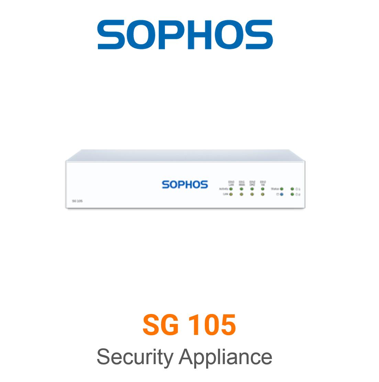 Sophos SG 105 Security Appliance