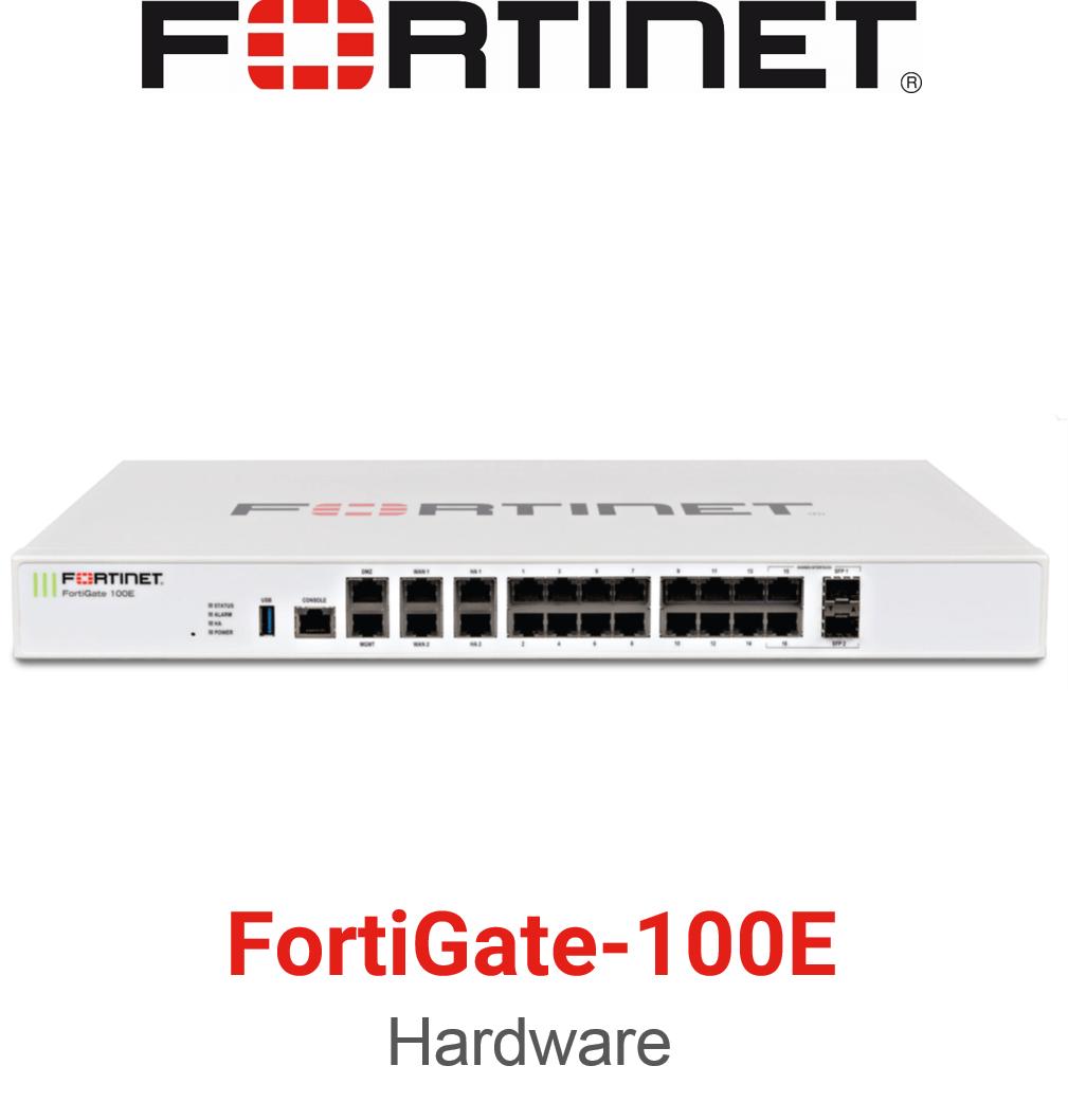 Fortinet FortiGate 100E Firewall