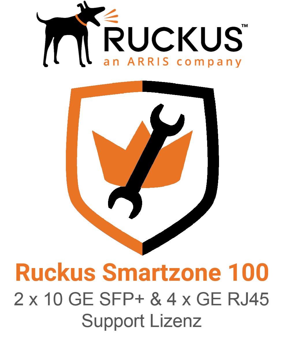 Ruckus Smartzone 100 4x GE RJ45 Support