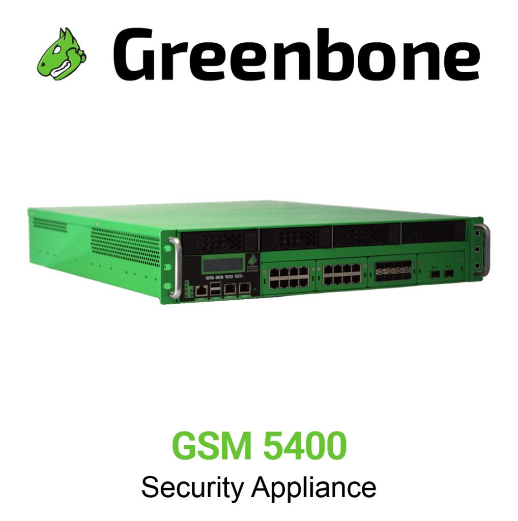 Greenbone GSM 5400 Appliance