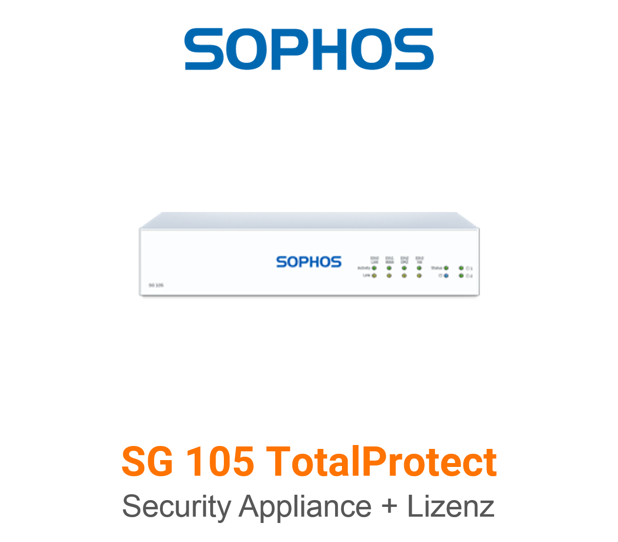 Sophos SG 105 TotalProtect Bundle (Hardware + Lizenz)